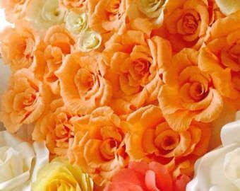 Papier Blume Hintergrund, Hochzeit Kulisse, riesige Papierblumen Krepp Blumen 3D