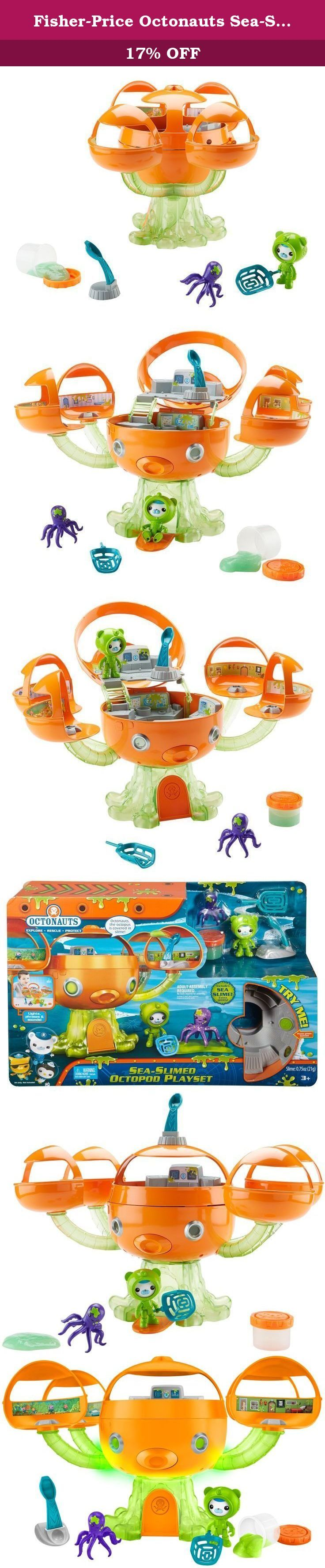 fisher price octonauts sea slimed octopod playset its slime time the octonauts