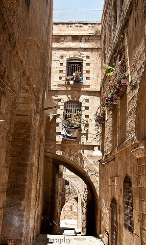 Old City Jerusalem, Palestine