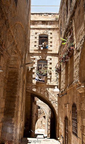 Old City Jerusalem, Palestine