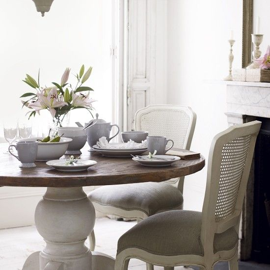Country Wallpapers Our Pick Of The Best Creative Ideas Shabby Chic Dining Room