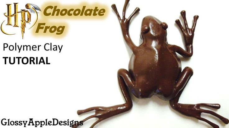 Polymer Clay Harry Potter's Chocolate Frog TUTORIAL
