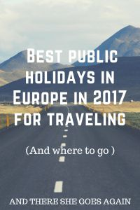 2017 is amazing for weekends travelers in Europe. Let me tell you how to get 122 days free (careful planning of public holidays and weekends) for traveling.