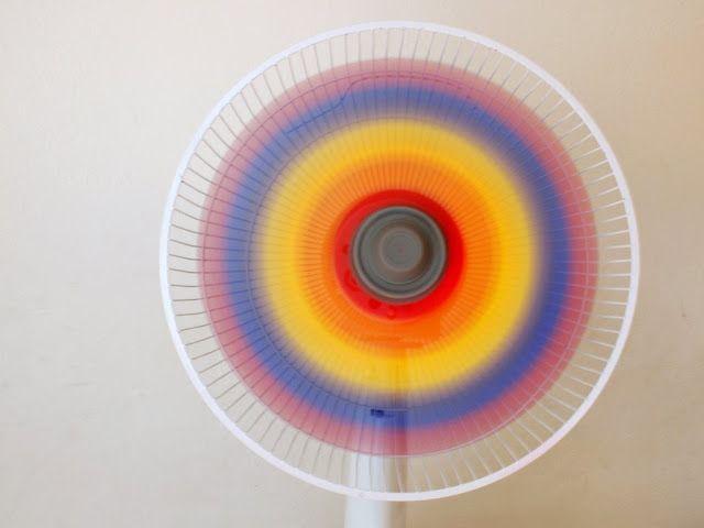 Paint a Rainbow Fan by pinkstripeysocks #Crafts #Rainbow_Fan
