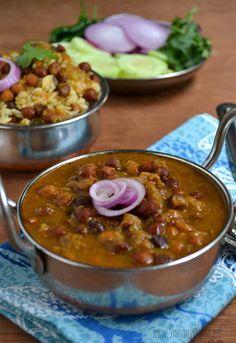 Punjabi Kala Chana Masala | Chole Recipe ~ Indian Khana