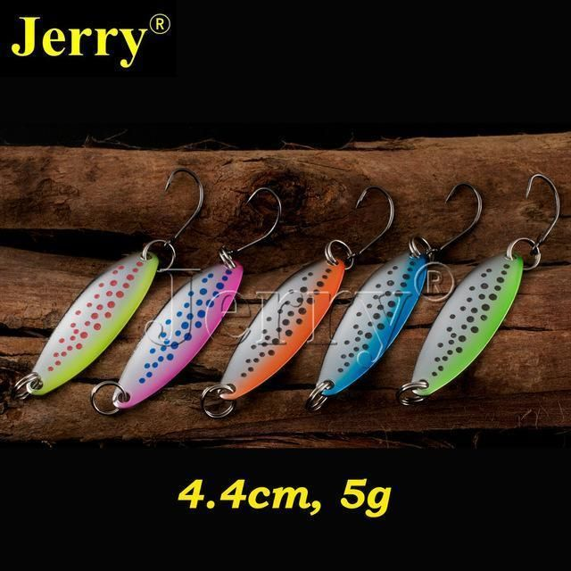 Fishing Lures Metal Spinner Baits Bass Tackle Crankbait Trout Spoon Trout