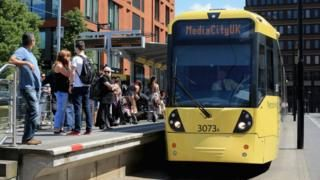 Manchester Metrolink trams resume services after fault