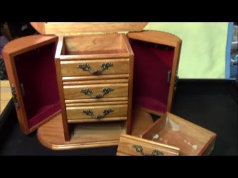 Best 25 jewelry box makeover ideas that you will like on for Old jewelry box makeover