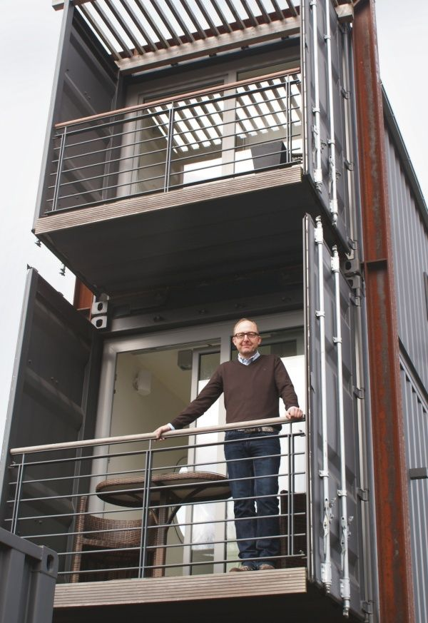 Casas container  com dois ou mais pisos para pessoas que buscam novas experiências e um novo jeito de morar. Morar diferente e de forma eco...