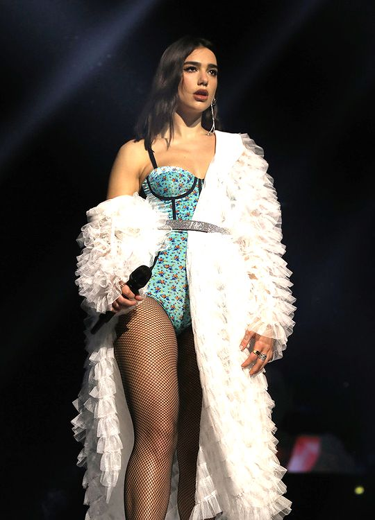 Dua Lipa performs on stage at the BBC Radio 1 Teen Awards 2017 at Wembley Arena on October 22, 2017 in London, England.