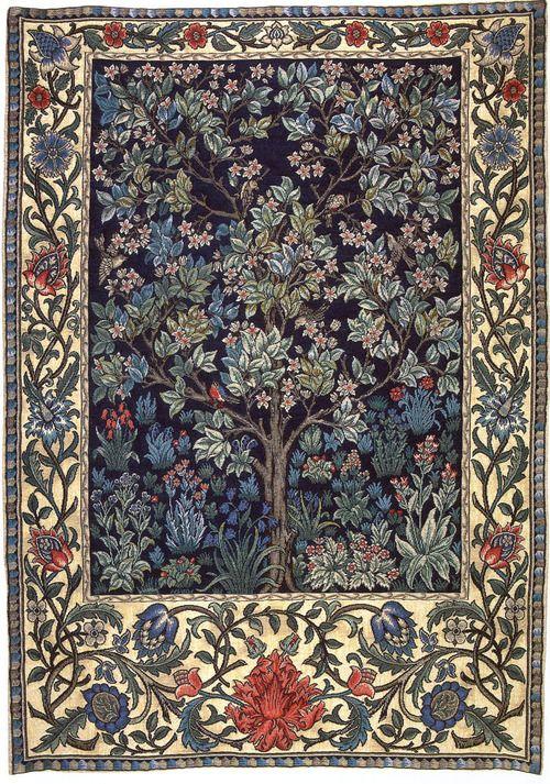 ub-sessed: William Morris Tree of Life tapestry