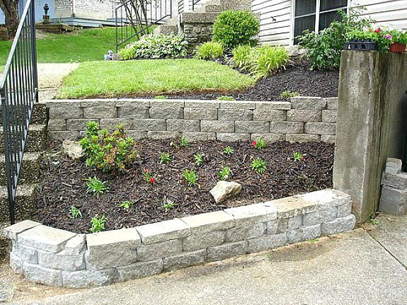Small Retaining Wall Ideas Pleasant Short Retaining Wall Ideas