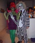 Beetlejuice and Miss Argentina Costume - 2013 Halloween Costume Contest