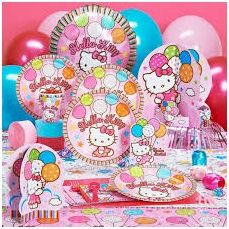 Celebrate birthday of your kids with various themes like hello kitty birthday and enjoy the birthday party.