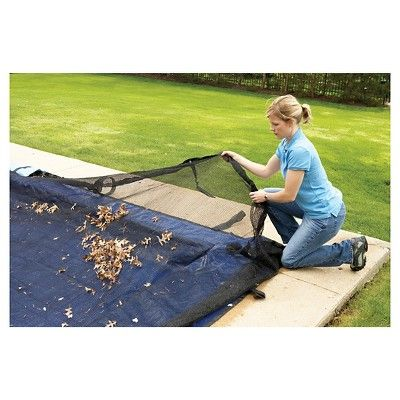 Blue Wave 28 Ft Round Leaf Net Above Ground Pool Cover