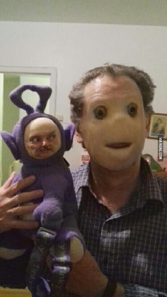 Something went terribly wrong with this faceswap... Scariest sh*t I've ever seen. - 9GAG