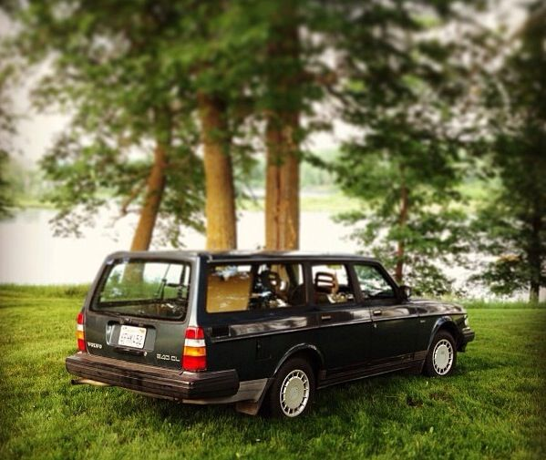 Volvo 240 Can any family car look more classically classy?