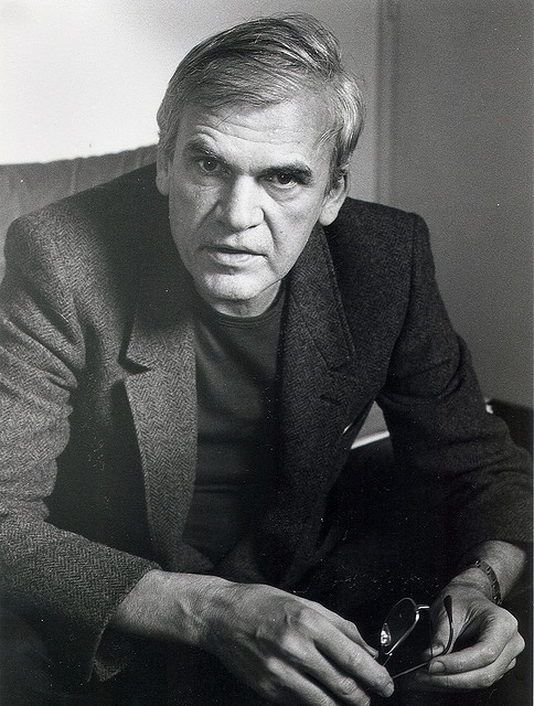 Milan Kundera. One of those people who looks exactly as you would expect.