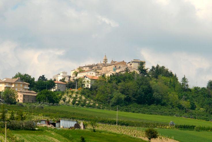 Panoramica di Monterinaldo #marcafermana #monterinaldo #fermo #marche