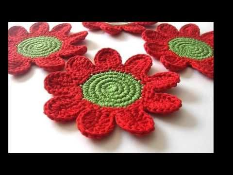 Margaritas a crochet - YouTube