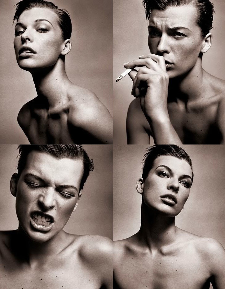 Milla Jovovich by Vincent Peters