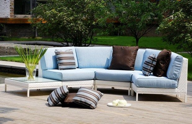 Comfortable Garden Furniture Outside Garden