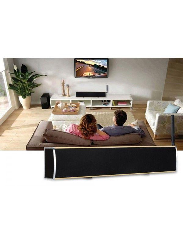 Anroid TV Box + Soundbar (Gold)