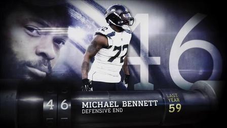 'Top 100 Players of 2017': No. 46 Michael Bennett - NFL Videos