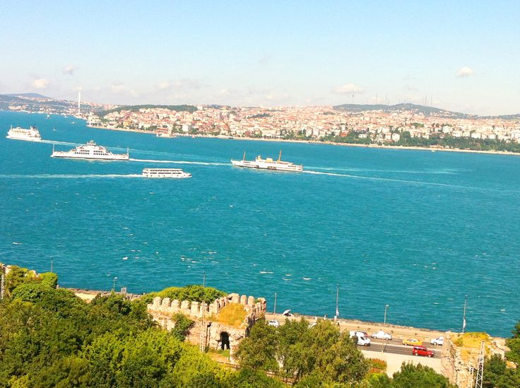 Gorgeous view from the Topkapi Palace, Istanbul