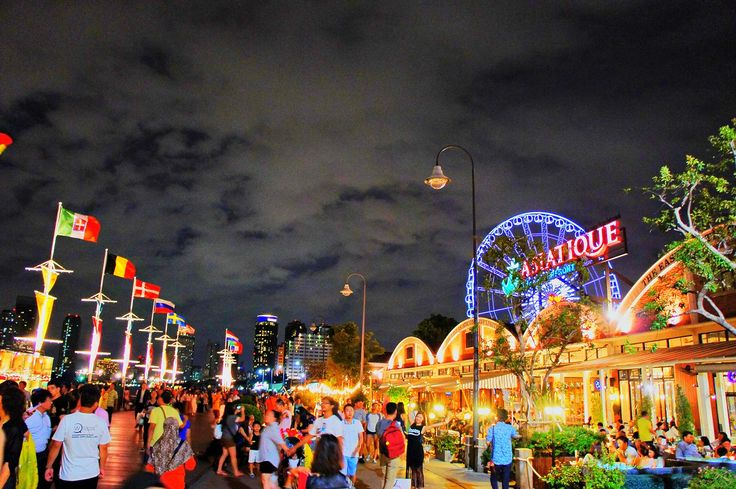 Love the ambiance @Asiatique Bangkok, Thailand