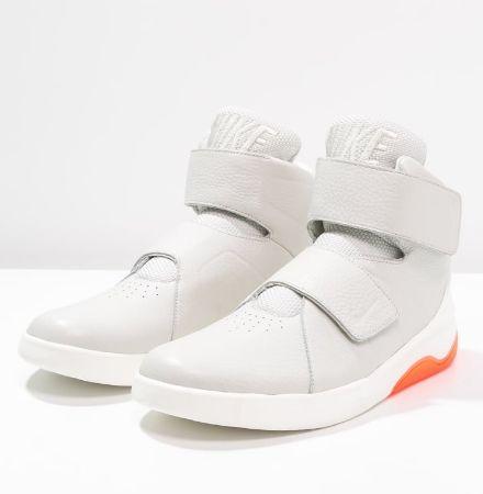 Nike Sportswear MARXMAN Tenisówki i Trampki wysokie light bone/sail/total crimson