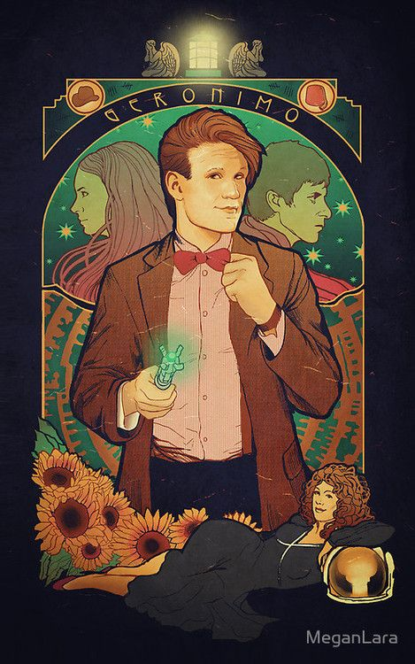 Dr Who by Megan Lara