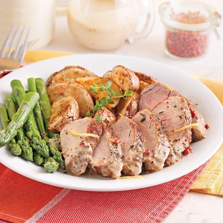 Si vous tombez sur des filets de porc bon marché, faites la recette en double! Elle se congèle facilement (sauce et filets séparés) et vous aurez un repas tout prêt pour les soirs pressés.