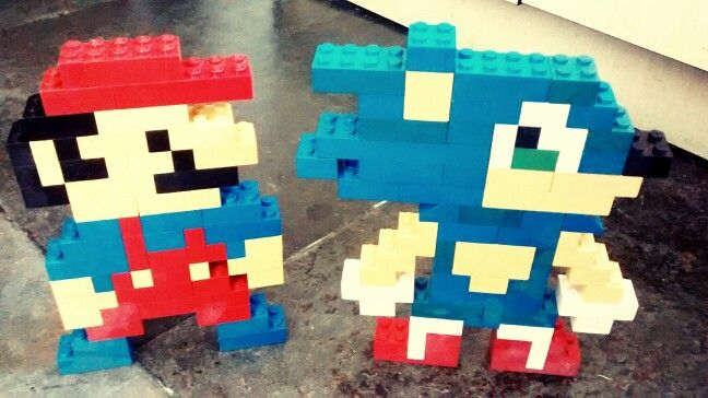 Lego Mario And Sonic Lego Mario Lego Lego Creations