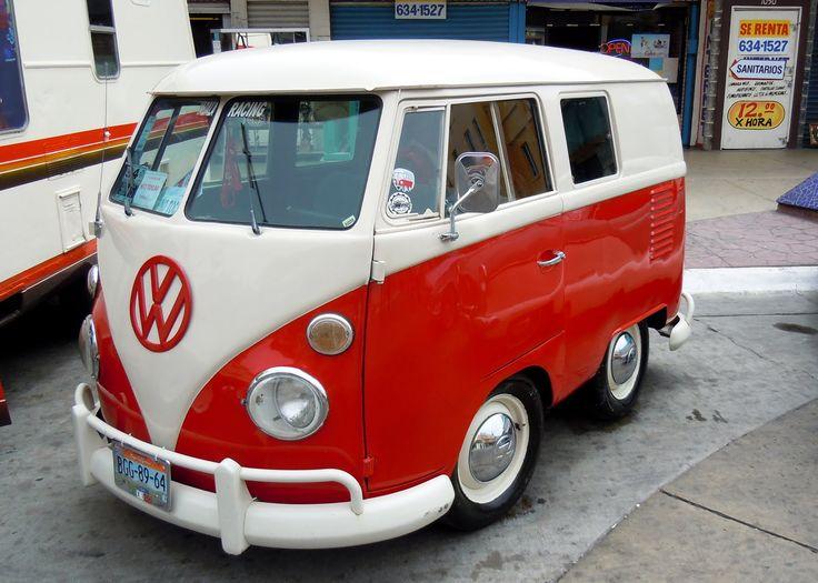 Three Quarter VW Combi Van