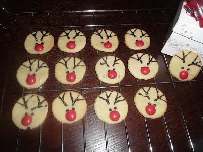 Rudolfy z ciastek