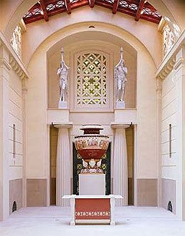 Top 100 things to do in London (This is the Queen's Gallery in Buckingham Palace) An astonishing and wide ranging collection of paintings, sculptures and other works of art as well as a glittering array of priceless treasure held in trust for the Nation by Her Majesty the Queen