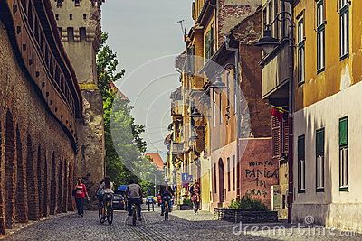 On Bike In Sibiu City, Romania - Download From Over 32 Million High Quality Stock Photos, Images, Vectors. Sign up for FREE today. Image: 54031343