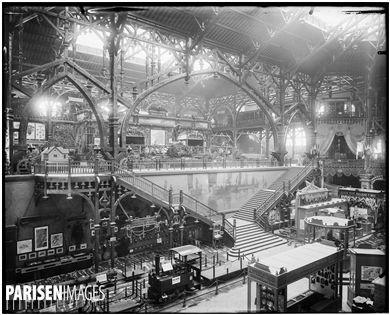 Exposition universelle de 1900. La section des engins de pêche. Paris, 1900.