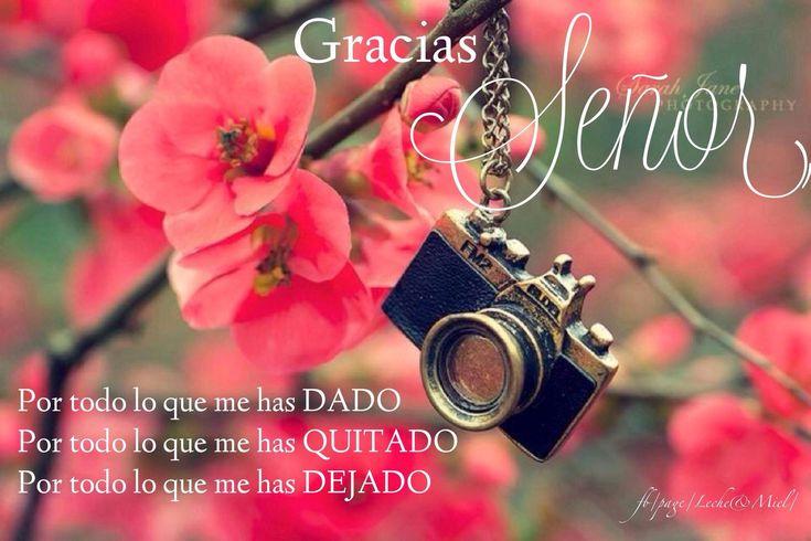 Gracias DIOS...