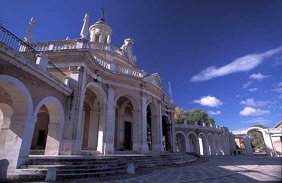 Индивидуальные экскурсии из Мадрида - Индивидуальная Экскурсия в Аранхуэс Aranjuez, церковь Сан Антонио Аранхуэс