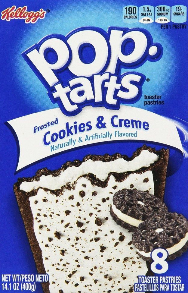 I got Cookies & Creme! What Kind Of Pop-Tart Matches Your Personality?