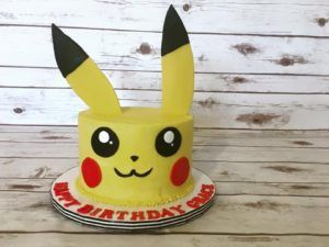 Awesome Pikachu pokemon cake from Hidden Gem Cakes, Phoenix, AZ