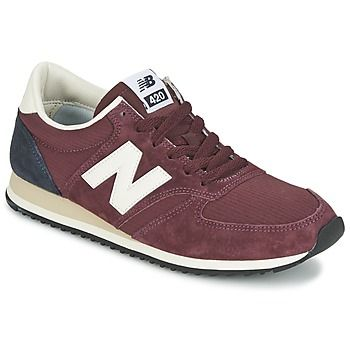 Baskets mode New Balance U420 Bordeaux 350x350