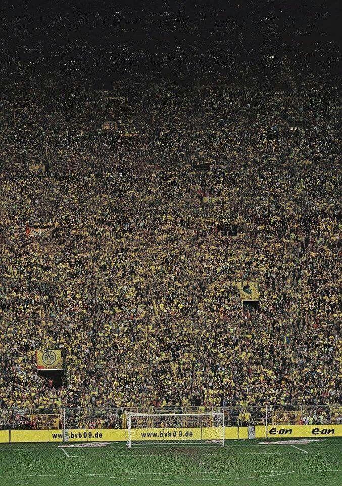 Yellow Wall Borussia Dortmund Fotos De Futebol Muralha Amarela