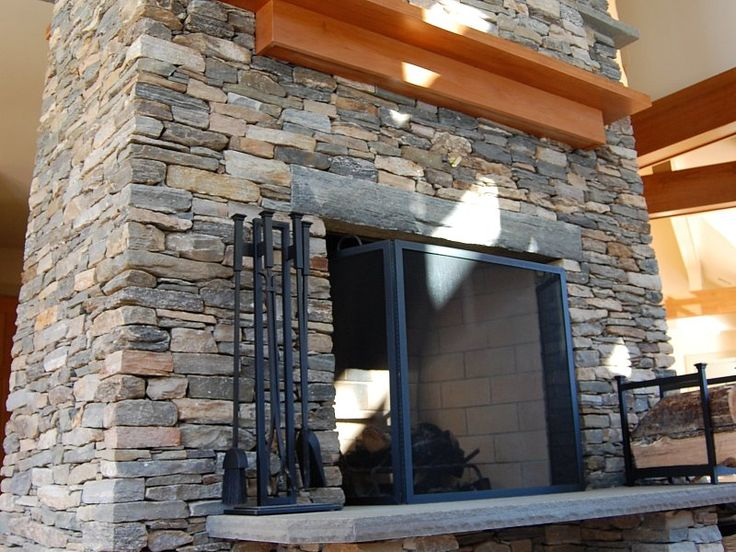 17 best images about house on pinterest farmhouse headboards copper and columns - Houses natural stone facades ...