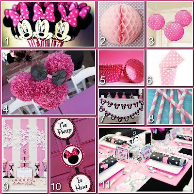 minnie mouse birthday ideas cricut | Minnie Mouse Birthday