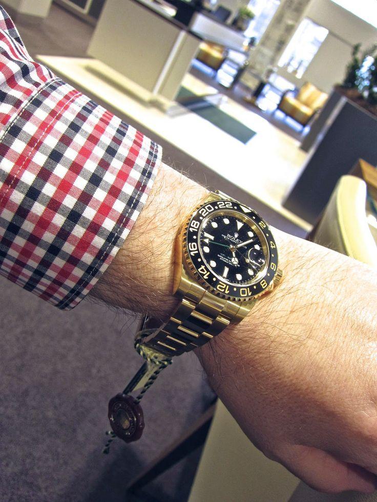 Sportswatchblogger - Der Sportuhren Blog : Rolex GMT Master II Referenz 116718 LN (18 Karat G...