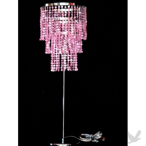 89 best Pink lamps/chandeliers images on Pinterest | Pink lamp ...