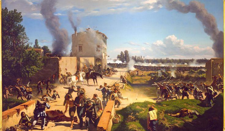 1848 Niccolo', figlio di Vincenzio, partecipa attivamente alla politica e combatte nella prima guerra d'indipendenza contro l'Austria, presso Curtatone e Montanara.